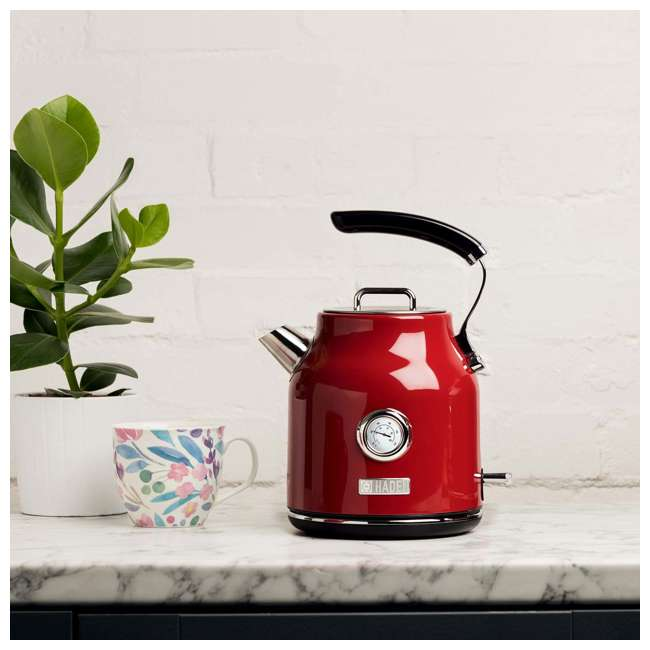 75000 + 75001 Haden Stainless Steel Retro Toaster & 1.7 Liter Stainless Steel Electric Kettle 4