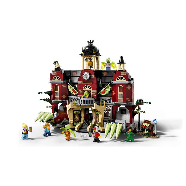 6250519 LEGO AR 70425 Newbury Haunted High School Building Playset w/ 8 Minifigures 4