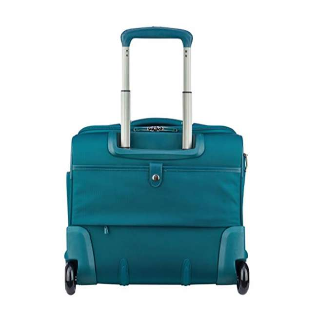 40229194732 DELSEY Paris 4 Sized Reliable Hyperglide Softside Travel Luggage Bag Set, Teal 3