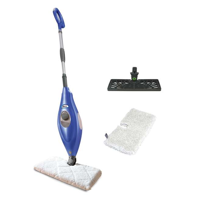 S3501WM_EGB-RB Shark S3501WM Electric Floor Steamer Steam Pocket Mop (Certified Refurbished