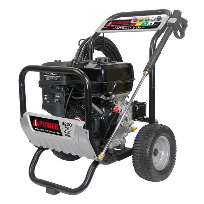 APW4200 A-iPower APW4200 4,200 PSI at 4.0 GPM Pump Pressure Washer
