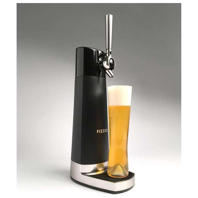 FZ403 Fizzics FZ403 DraftPour Nitro-Style USB-Powered Home Bar Beer Tap Dispenser 1