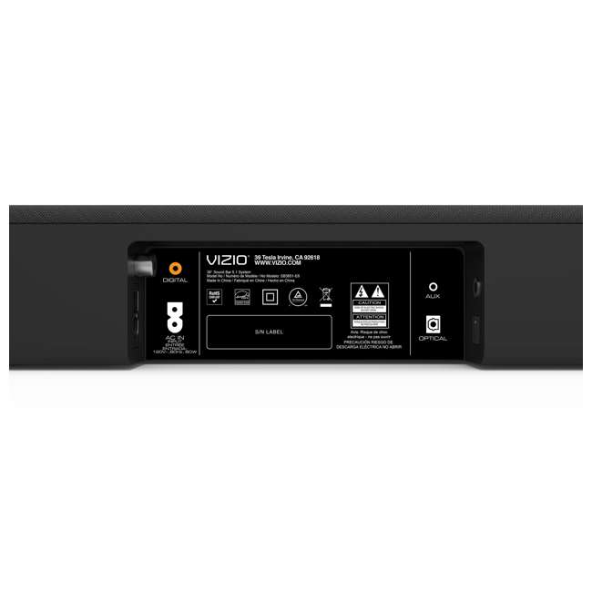 SB3651-E6C-RB VIZIO  5.1 Soundbar Speaker System (Certified Refurbished) 6