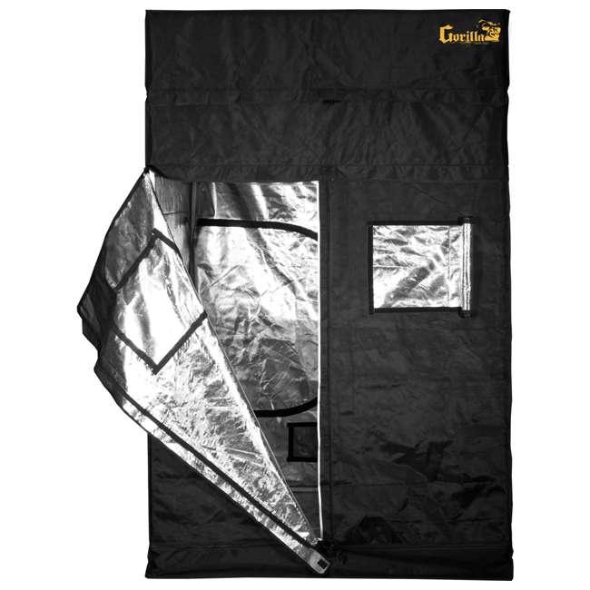 GGT33-U-A Gorilla Grow Tent 3' x 3' Indoor Hydroponic Greenhouse Garden Room-Open Box