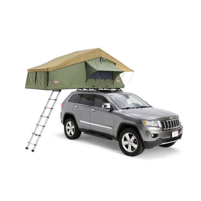 01ASK051601 + MTX02SO Tepui Explorer Autana 3 Person Car Camp Roof Top Tent & Vehicle Recovery Device 1