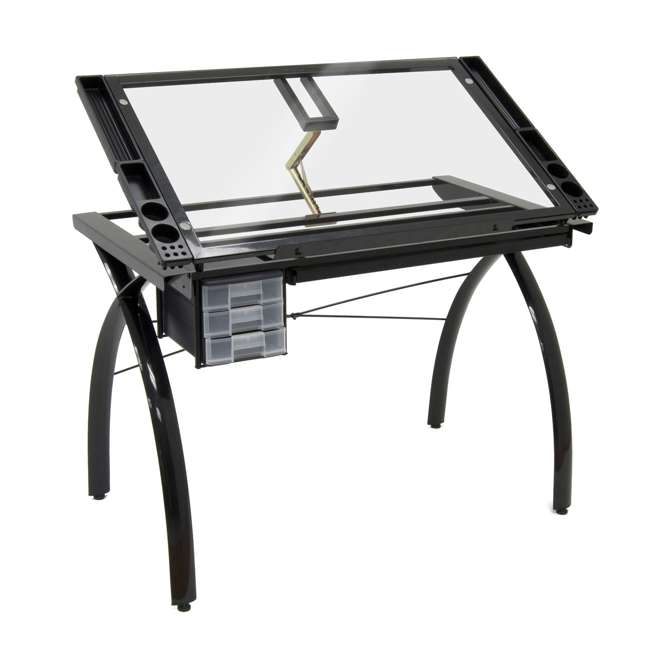 STDN-10072-U-B Studio Designs Futura Adjustable Arts & Crafts Drawing Desk Station (Used) 1