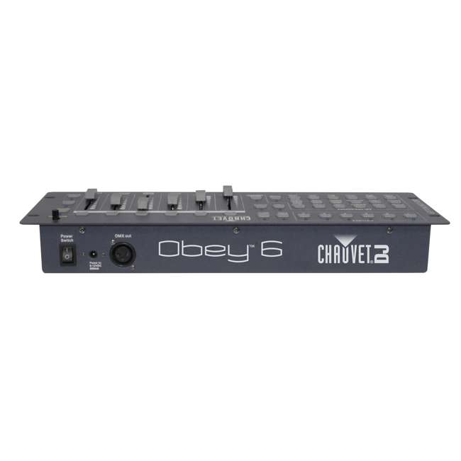 6 x OBEY6 Chauvet OBEY 6 Universal DMX Controller (6 Pack) 3