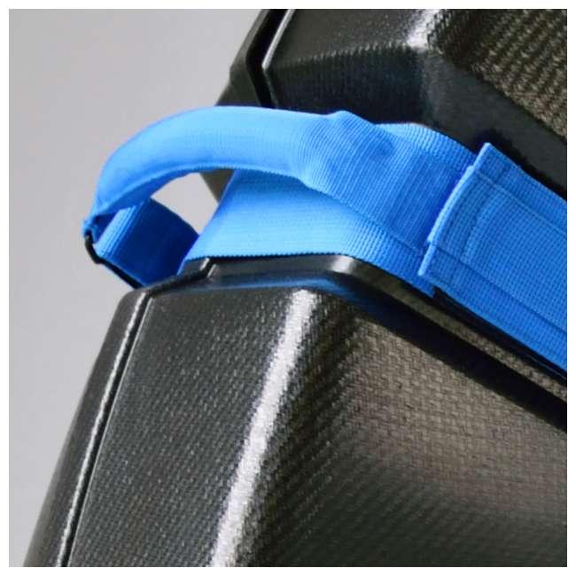 96015 B&W International Hard Impact Resistant Weatherproof Bike Guard Curv Case, Blue 7