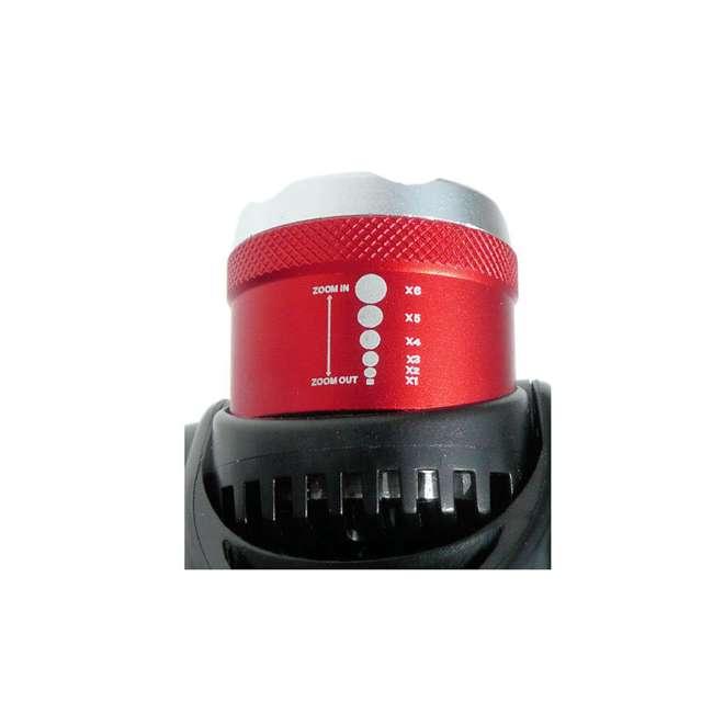 MXN00630 Maxxeon 630 WorkStar Technician's Micro USB Rechargeable LED Work Headlamp, Red 6