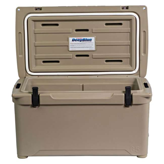 ENG65-T-OB Engel 65 High-Performance Roto-Molded Cooler, Tan(Open Box) 1