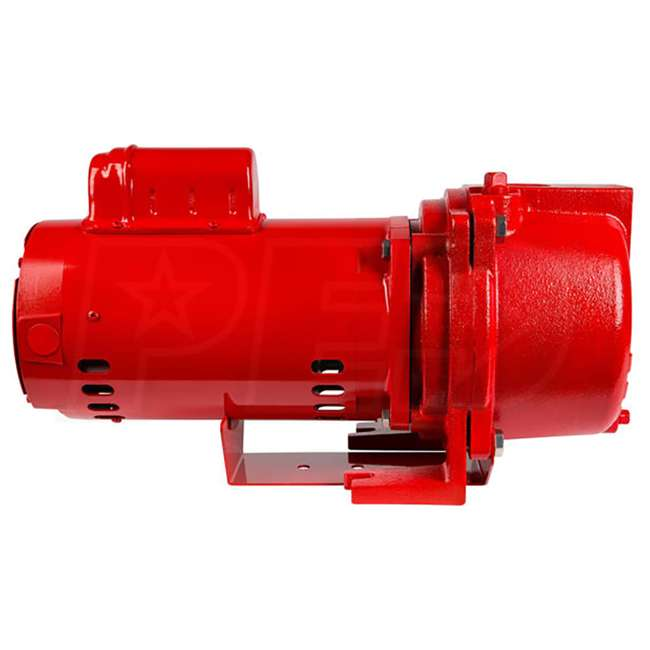 RL-SPRK150-U-B Red Lion 1.5 Horsepower 71 GPM 115V Cast Iron Irrigation Sprinkler Pump (Used) 2