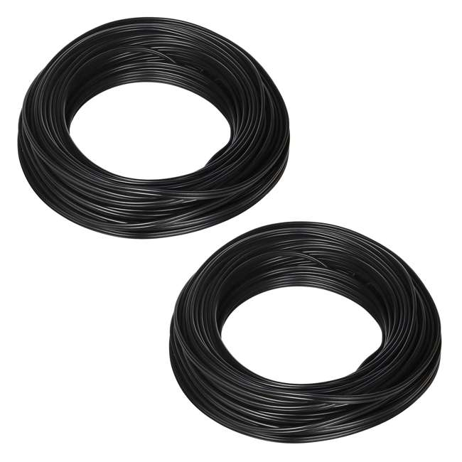 55213143 Southwire 100-Foot 10-Amp Outdoor Lighting Cable, Black (2 Pack)