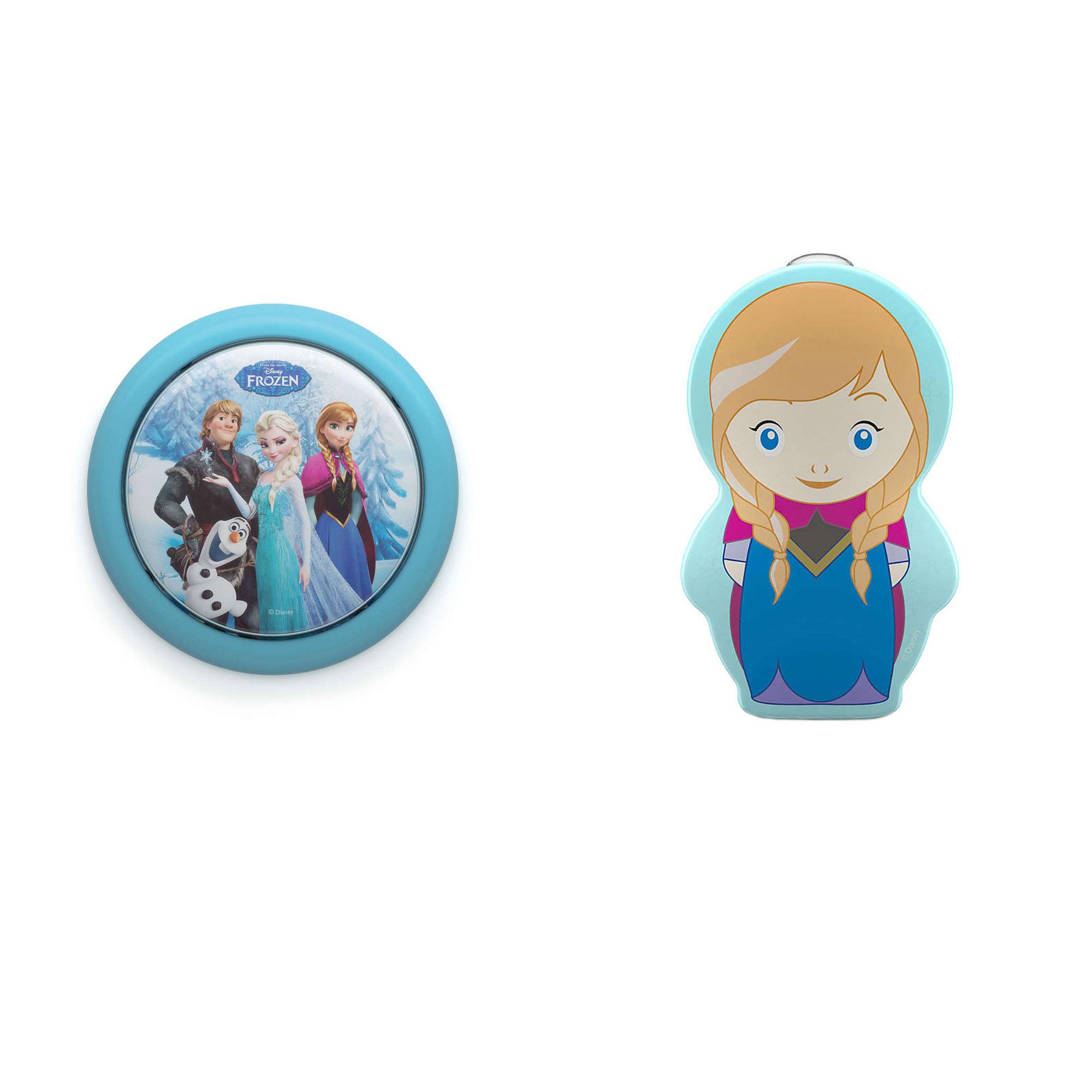 PLC-7192408U0 + PLC-7176737U0 Philips Disney Frozen Touch Night Light w/ Philips Kids Frozen Anna Light