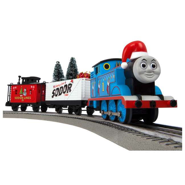 Thomas The Train Christmas Tree.Lionel Trains Thomas Friends O Gauge Christmas Train Set
