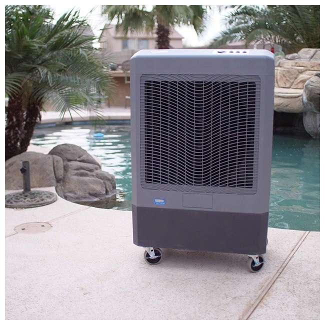 MC61M Hessaire MC61M Indoor/Outdoor Portable 1,600 Sq Ft Evaporative Swamp Air Cooler 4
