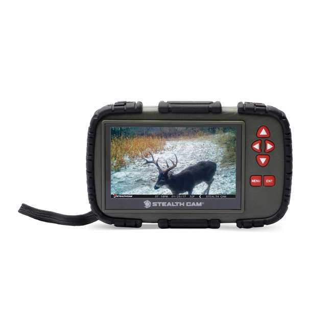 STC-CRV43X Stealth Cam 4.3-Inch LCD Viewer & SD Card Reader (2 Pack) 1