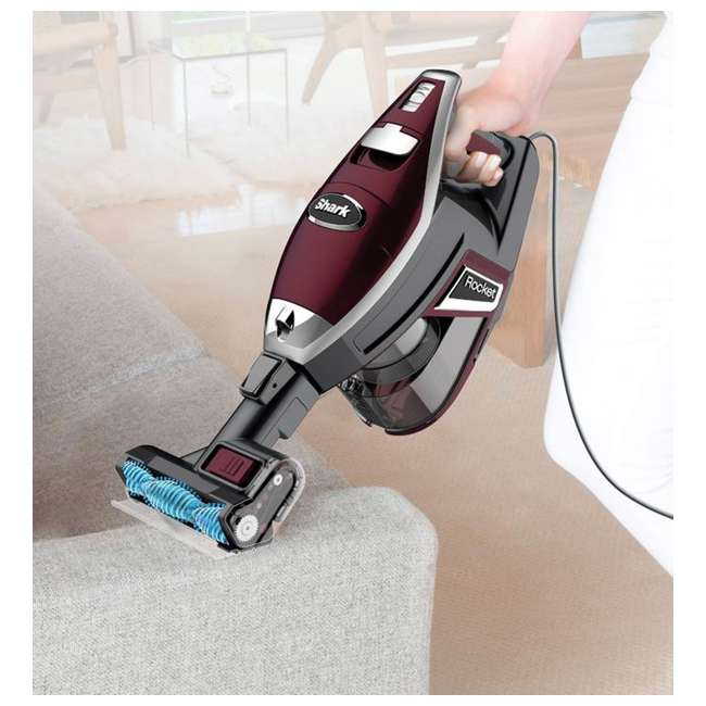 HV322 + 69944A Shark Rocket TruePet Upright Vacuum & OxiClean Carpet Washer 4