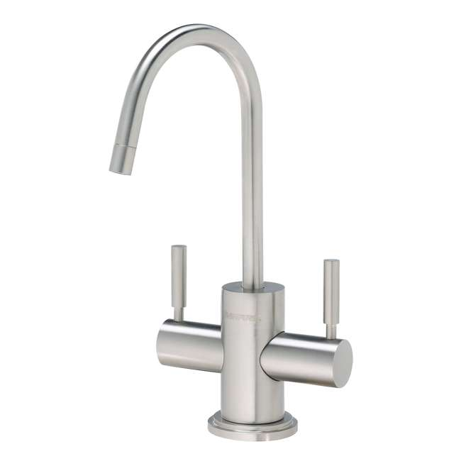 EV900086 Pentair Everpure 2-Handle Filtration Faucet, Stainless steel