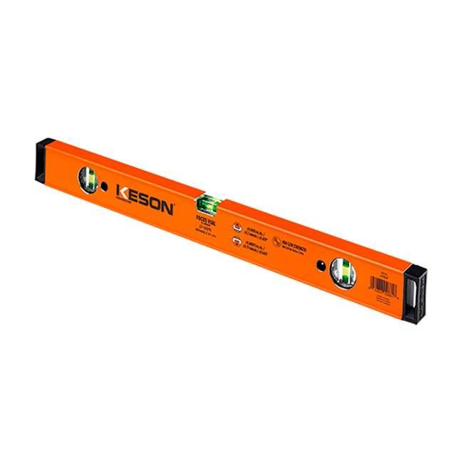 LSB24 Sola Big Red Box Beam Aluminum Spirit Level Tool, 24-Inches