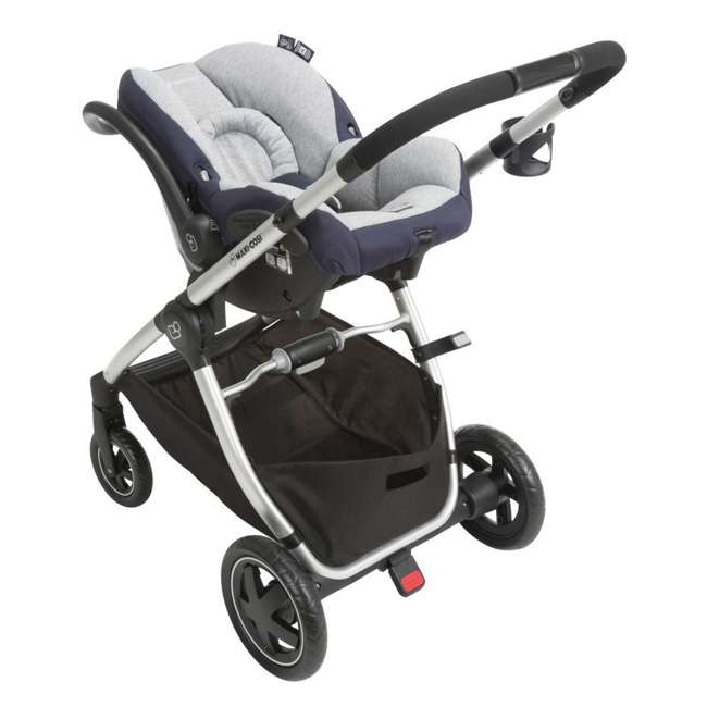 TR362CTD Maxi-Cosi Adorra Stroller and Car Seat Travel System, Brilliant Navy 3