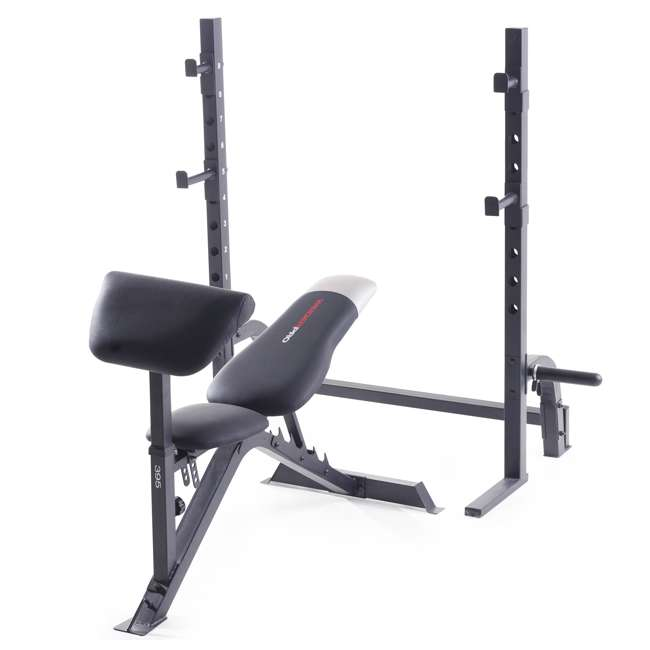 Weider Pro 395 Olympic Bench And Exercise Rack 15965