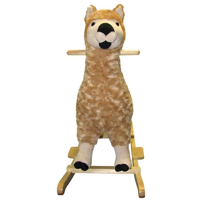 82494 Charm Co. Lorenzo Llama Rocker Battery Operated Noises, for 24 Months and Up 1