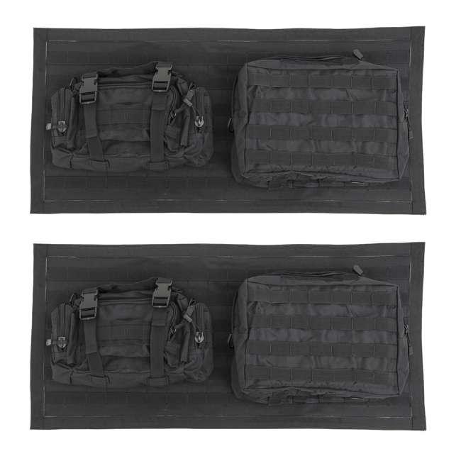 5662301-SMITTYBILT Smittybilt GEAR 2007-2016 Jeep Storage Bag Tailgate Cover (2 Pack)