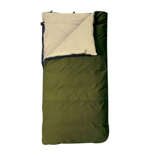 51731412LR-U-B Slumberjack Country Squire 12 Ounce Cotton Duck Insulated Sleeping Bag (Used)