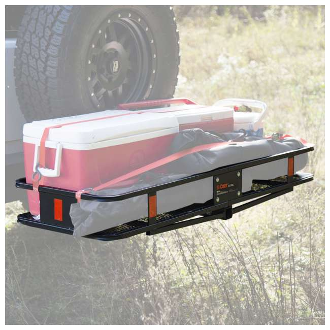 100T62 + CURT-18151 Curt Folding 60-inch Cargo Tray and 2 Rightline Gear Weather Resistant Dry Bags 8