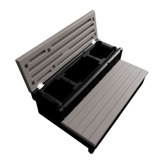 6 x LASS36-SC-P Leisure Accents 36-Inch Long Spa Storage Steps (6 Pack) 3