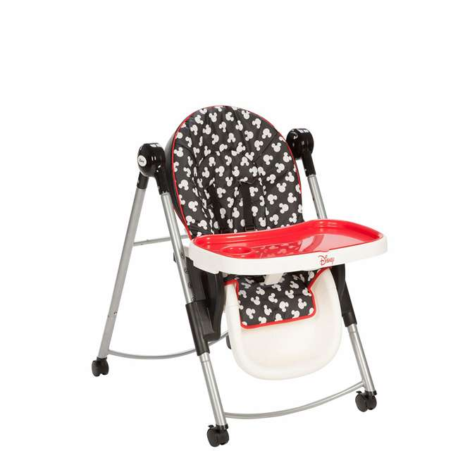 HC230CLV Mickey Mouse AdjusTable High Chair with 6 Heights 5