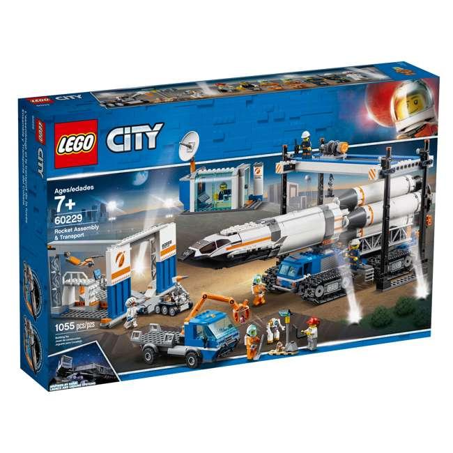 6251738 LEGO City Rocket Assembly & Transport 1055 Piece Building Kit w/ 7 Minifigures 10