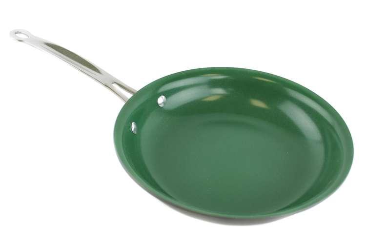 TEL6110�Orgreenic 10-Piece Ceramic Non Stick Kitchen Cookware - Green