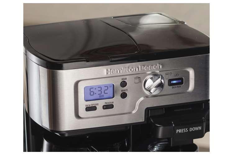 49983�Hamilton Beach 2-Way FlexBrew Coffee Maker | 49983
