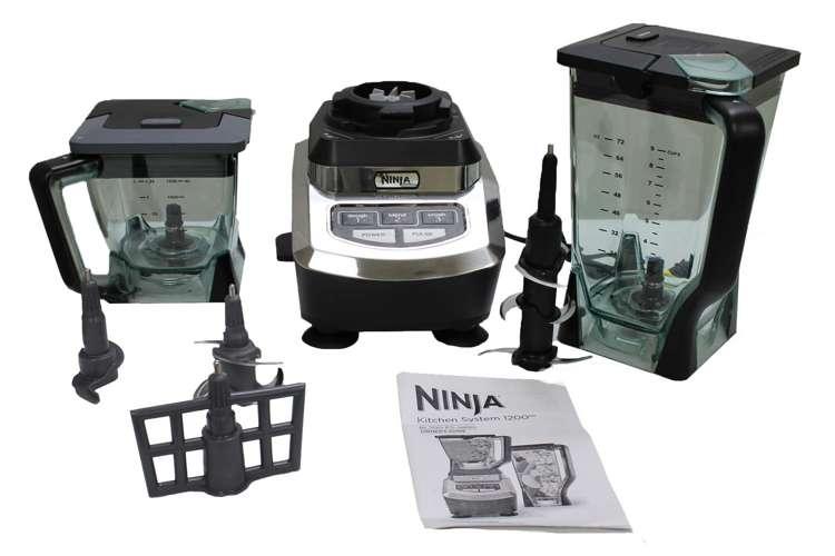 Ninja Kitchen System 1200 Blender Refurbished BL700 RB