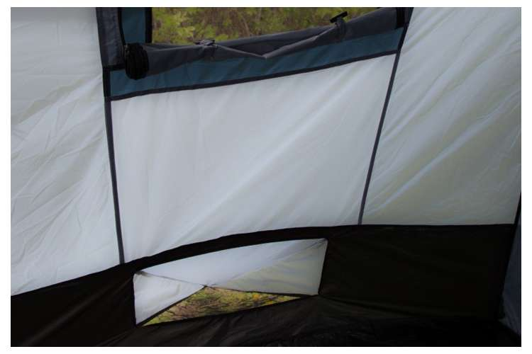 TGT-OZARK-16�Tahoe Gear Ozark 16-Person 3-Season Tent, Blue