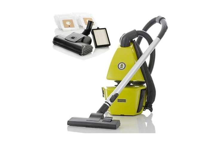 BV4001+BV4001ACCESSORIES�AIR:GO:NOMIC Backpack Vacuum Cleaner Vac with Bonus