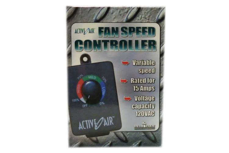 ACSC�Inline Fan Speed Controller - HYDROFARM ACSC Duct Fan Speed Adjuster 15AMP