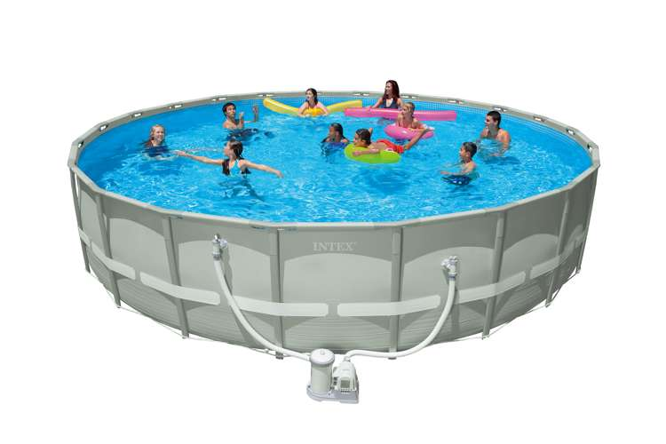 Intex 22 X 52 Ultra Frame Pool Set 54960wl