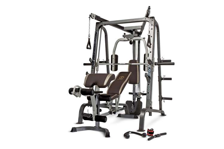 marcy deluxe diamond elite smith cage total body gym   md
