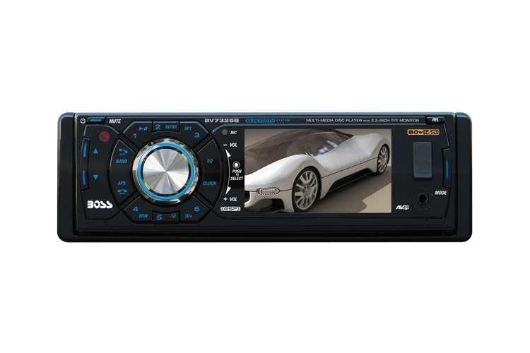 BV7325B�BOSS BV7325B 3.2-Inch LCD Bluetooth DVD/CD/USB Receiver