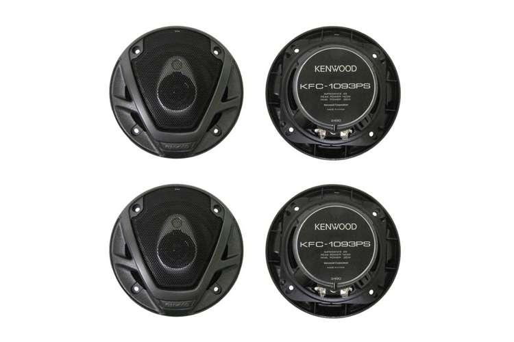 KFC1093PS�4) Kenwood KFC-1093PS 4-Inch 560 Watt 3-Way Car Audio Speakers KFC1093PS (2 Pair)