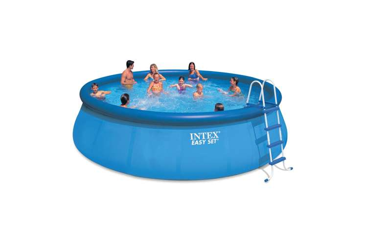 Intex 18 Feet X 48 Inches Easy Set Pool Set With Ladder And Pump 54919eg
