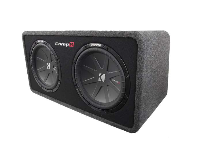 40DCWR122�Kicker DCWR122 12-Inch 2000W Loaded Subwoofer - 2 Ohm