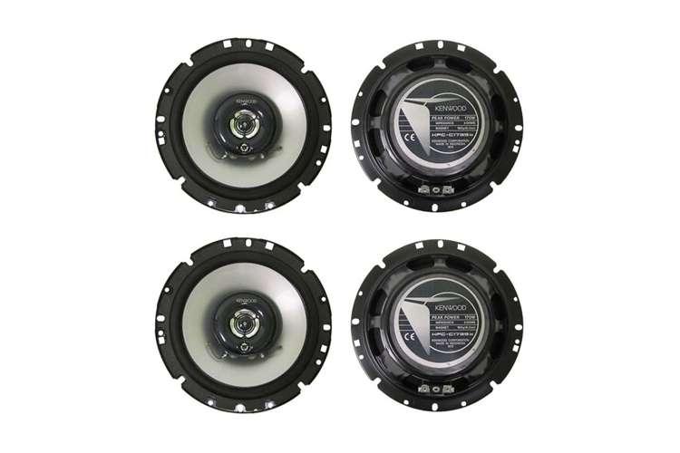 KFCC1739IE�4) Kenwood KFC-C1739IE 7-Inch 680 Watt 3-Way Custom Fit Car Audio Speakers (2 Pairs)
