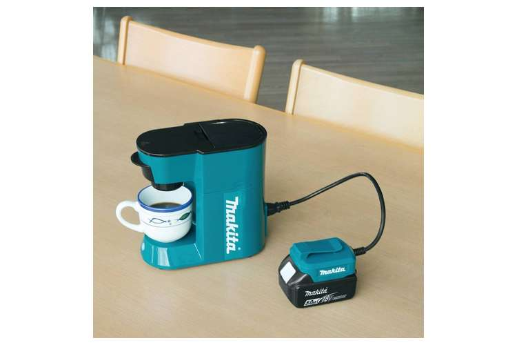 Makita Portable Coffee Maker : Makita 18 Volt LXT Lithium-Ion Cordless Coffee Maker, Tool Only : DCM500Z : VMInnovations.com