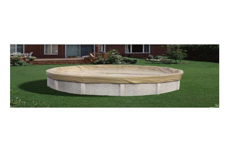 AK1530OV4�Armor Kote 15x30 Tan Winter Oval Above Ground Swimming Pool Cover