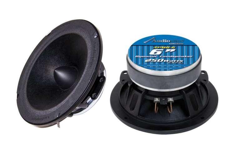 APMB6�Audiopipe APMB6 6-Inch 250W Low/Mid Frequency Speaker